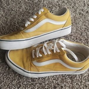 Mustard Yellow Vans